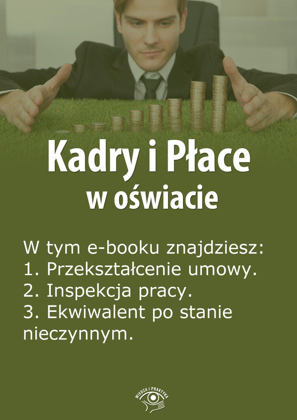 Kadry i Płace w oświacie. Wydanie kwiecień 2014 r. - Ebook (Książka EPUB) do pobrania w formacie EPUB