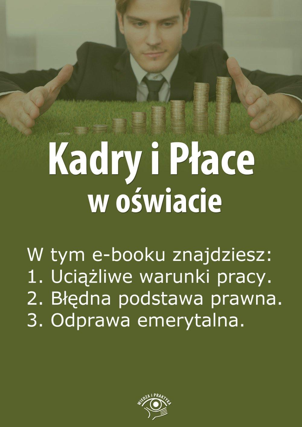 Kadry i Płace w oświacie. Wydanie czerwiec 2014 r. - Ebook (Książka EPUB) do pobrania w formacie EPUB