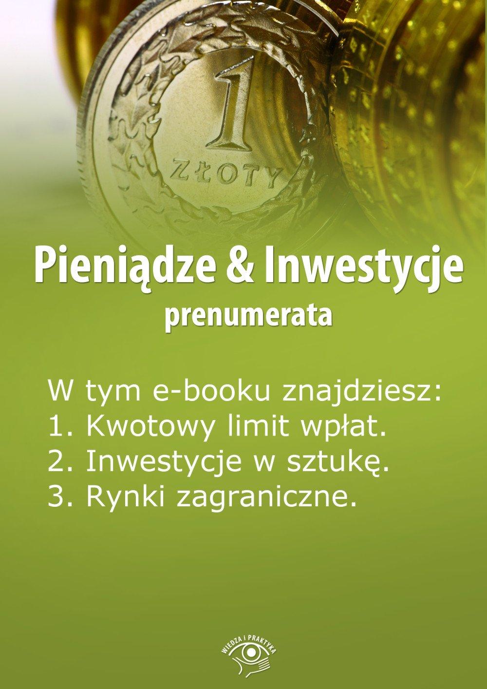 Pieniądze & Inwestycje. Wydanie kwiecień 2014 r. - Ebook (Książka EPUB) do pobrania w formacie EPUB