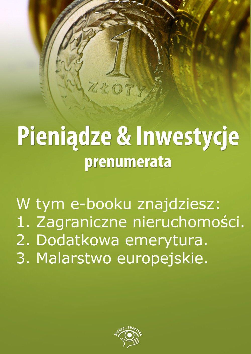Pieniądze & Inwestycje. Wydanie maj 2014 r. - Ebook (Książka EPUB) do pobrania w formacie EPUB