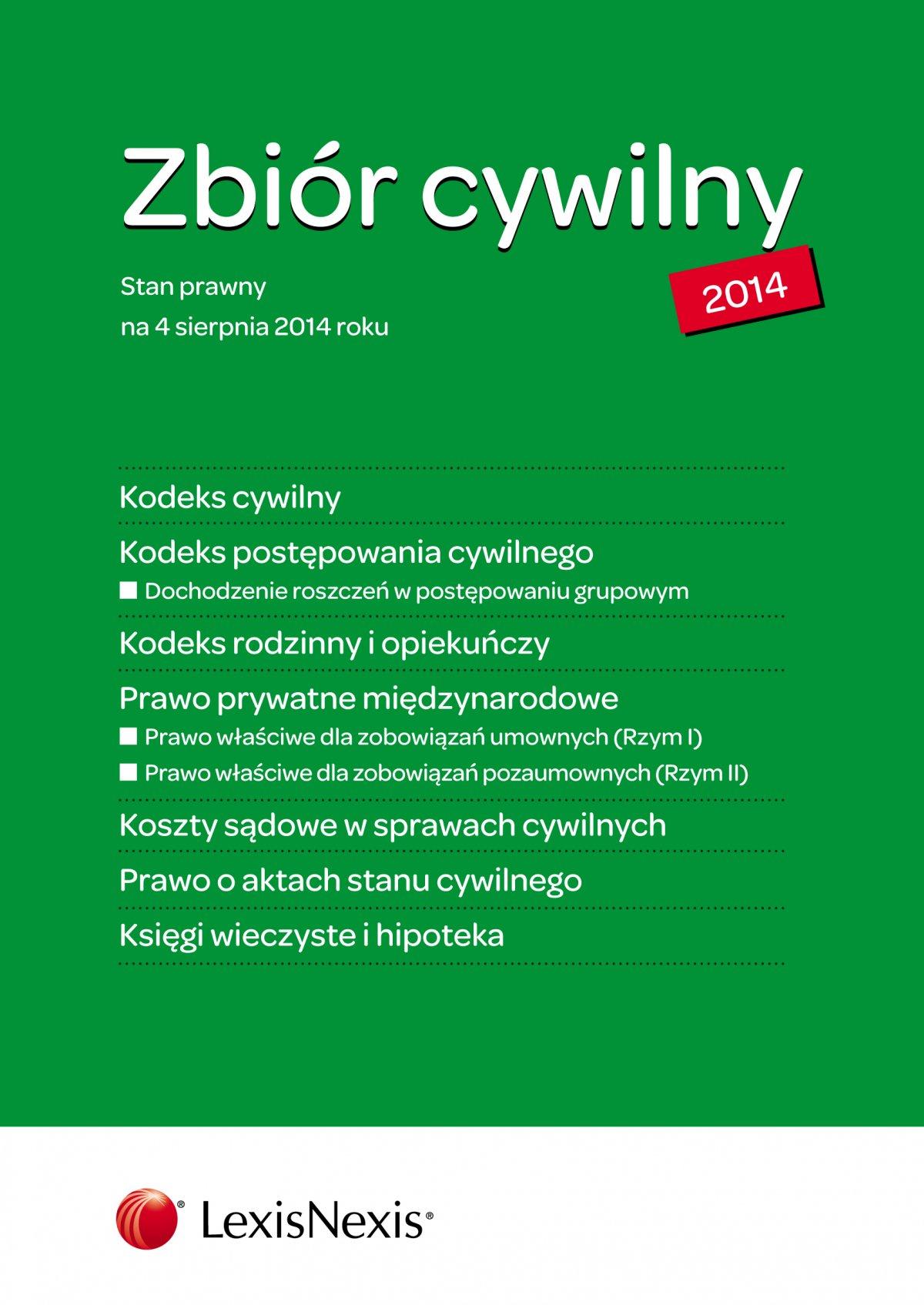 Zbiór cywilny. Wydanie 2 - Ebook (Książka EPUB) do pobrania w formacie EPUB