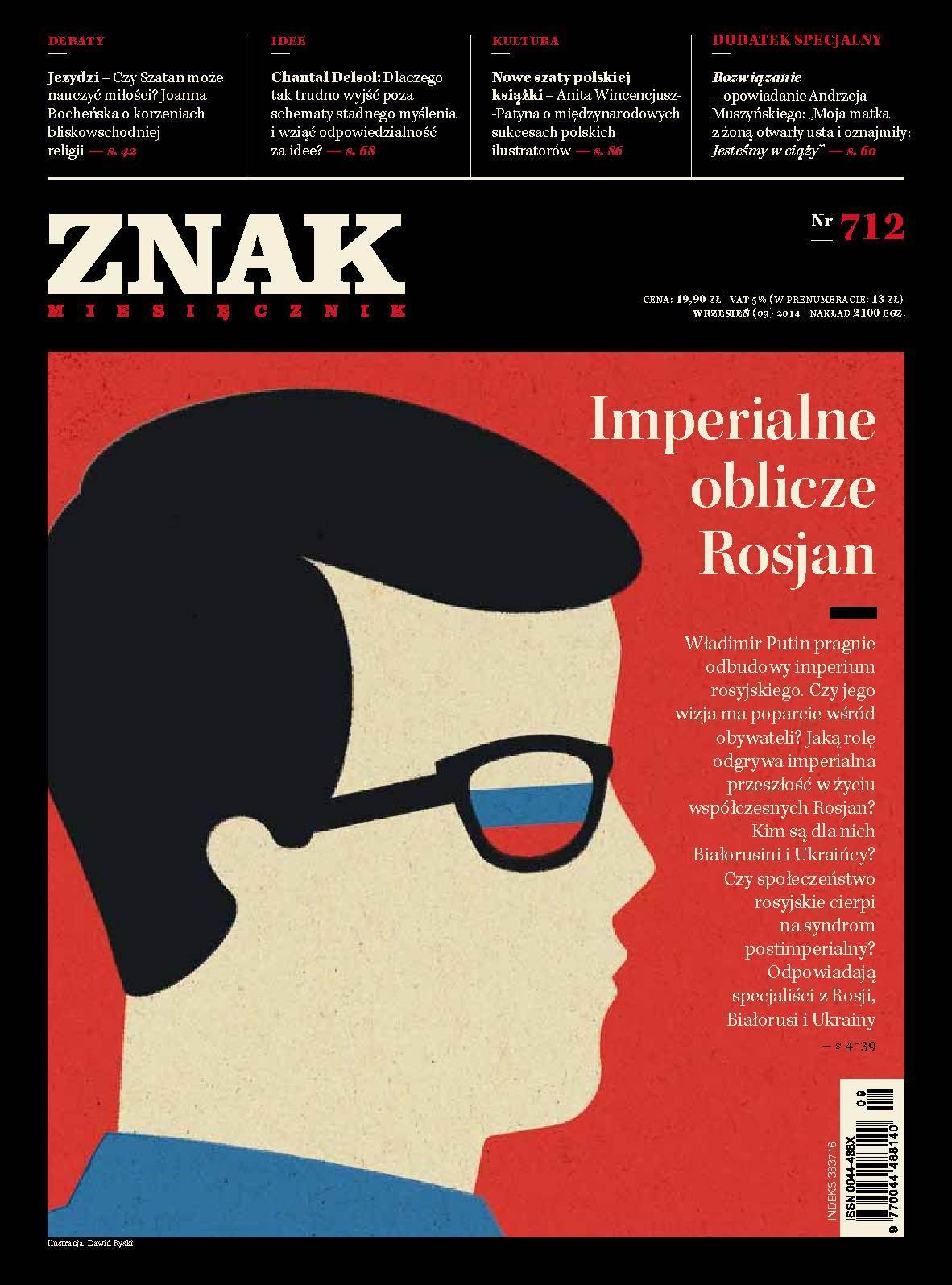 Miesięcznik Znak. Wrzesień 2014 - Ebook (Książka EPUB) do pobrania w formacie EPUB