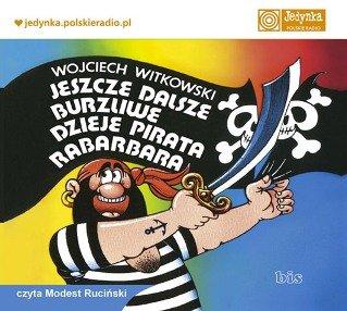 Jeszcze dalsze burzliwe dzieje pirata Rabarbara - Audiobook (Książka audio MP3) do pobrania w całości w archiwum ZIP