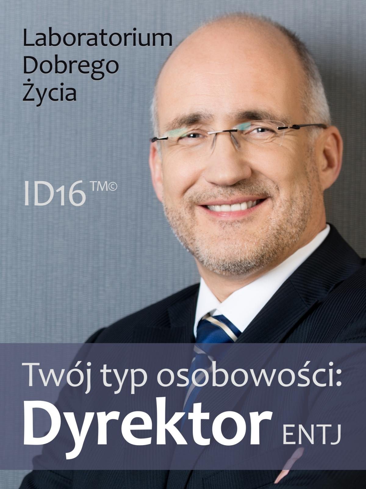 Twój typ osobowości: Dyrektor (ENTJ) - Ebook (Książka EPUB) do pobrania w formacie EPUB