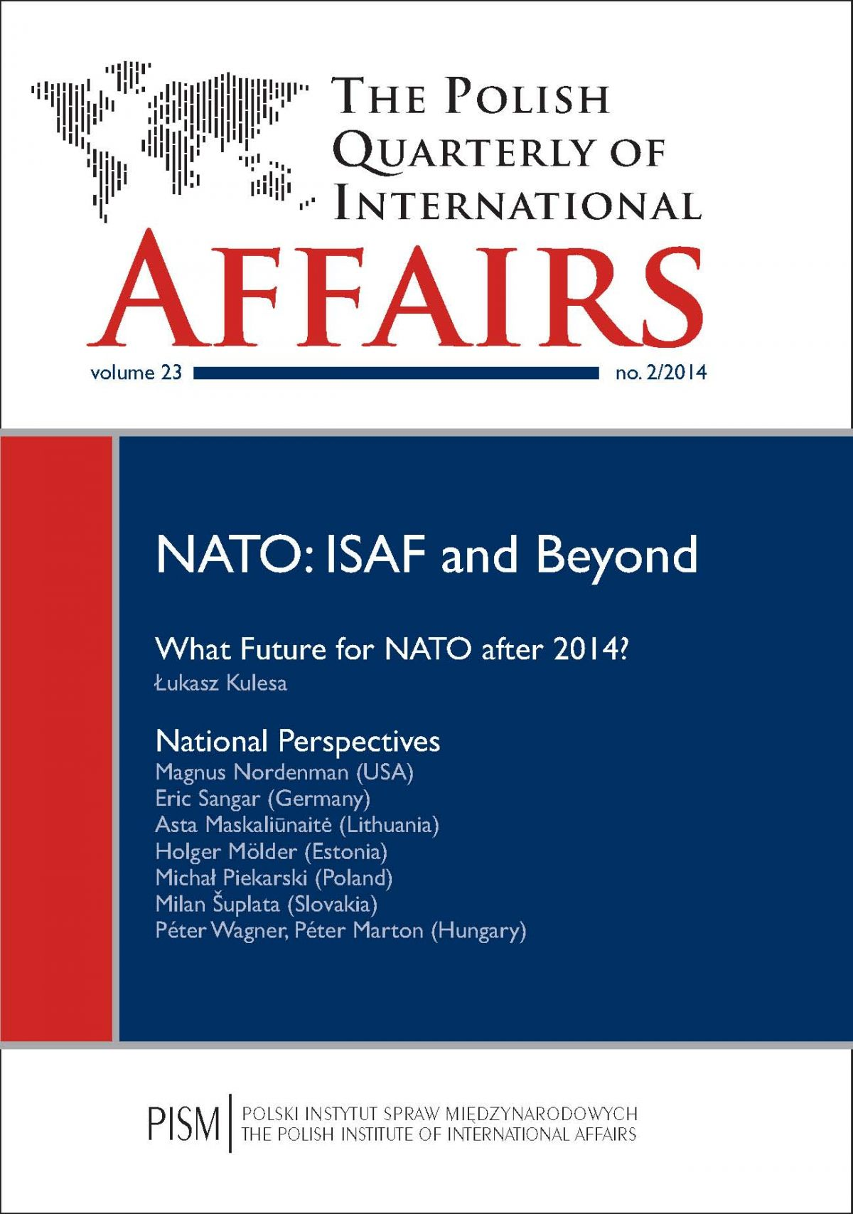 The Polish Quarterly of International Affairs 2/2014 - Ebook (Książka EPUB) do pobrania w formacie EPUB