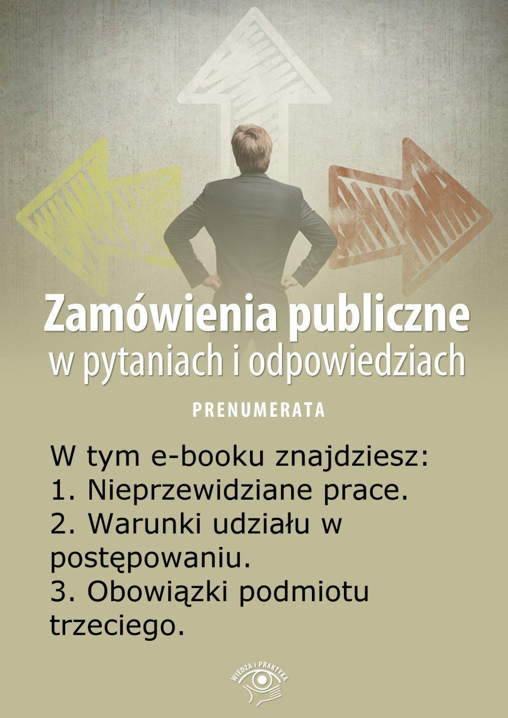 Zamówienia publiczne w pytaniach i odpowiedziach. Wydanie specjalne lipiec 2014 r. - Ebook (Książka EPUB) do pobrania w formacie EPUB