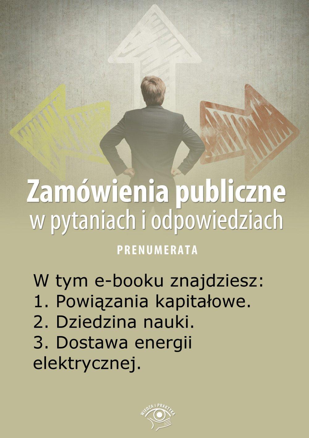 Zamówienia publiczne w pytaniach i odpowiedziach. Wydanie lipiec-sierpień 2014 r. - Ebook (Książka EPUB) do pobrania w formacie EPUB