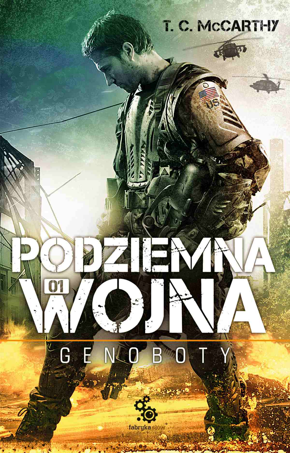 Podziemna wojna. Genoboty - Ebook (Książka EPUB) do pobrania w formacie EPUB