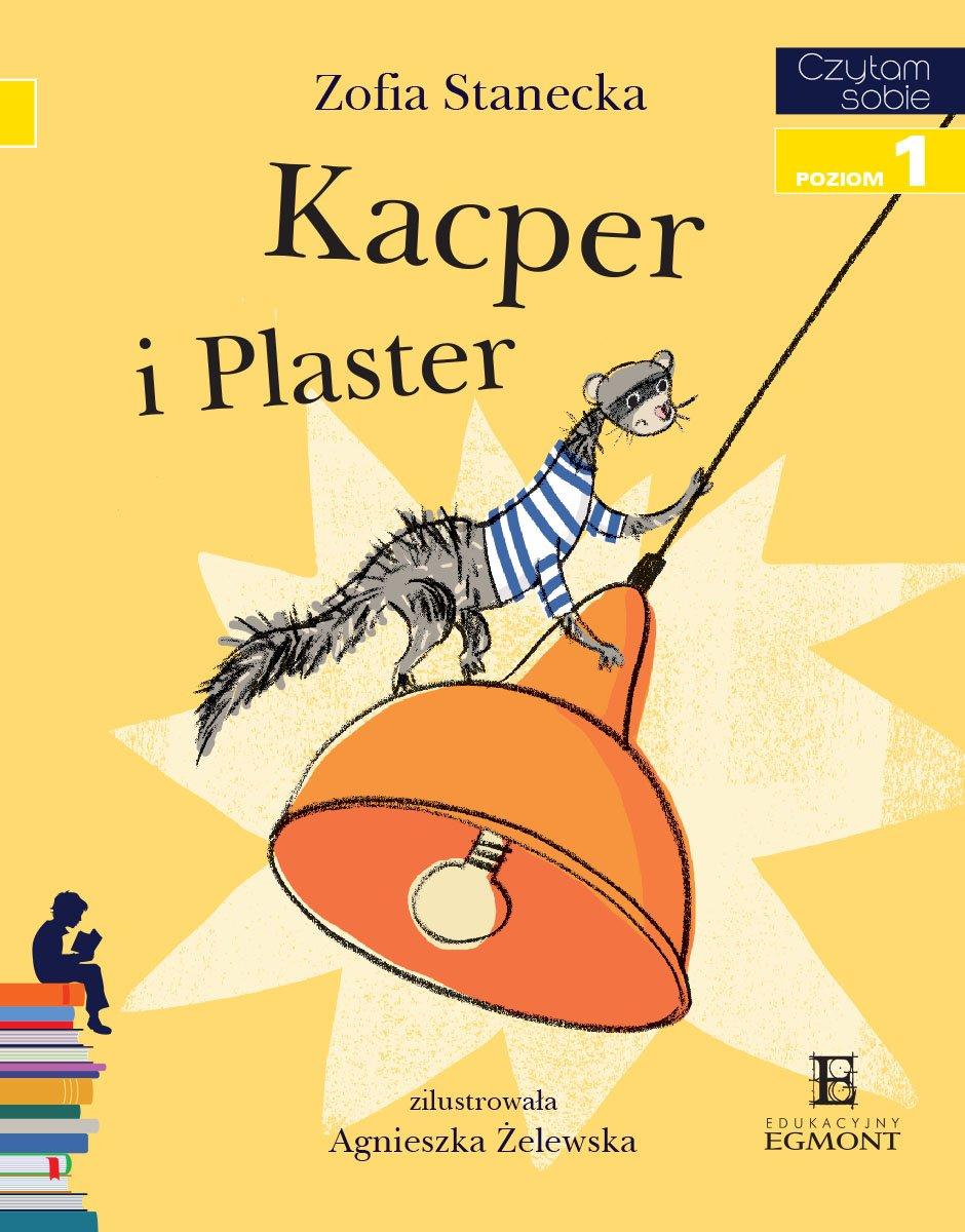 Kacper i Plaster. Czytam sobie - poziom 1 - Ebook (Książka PDF) do pobrania w formacie PDF