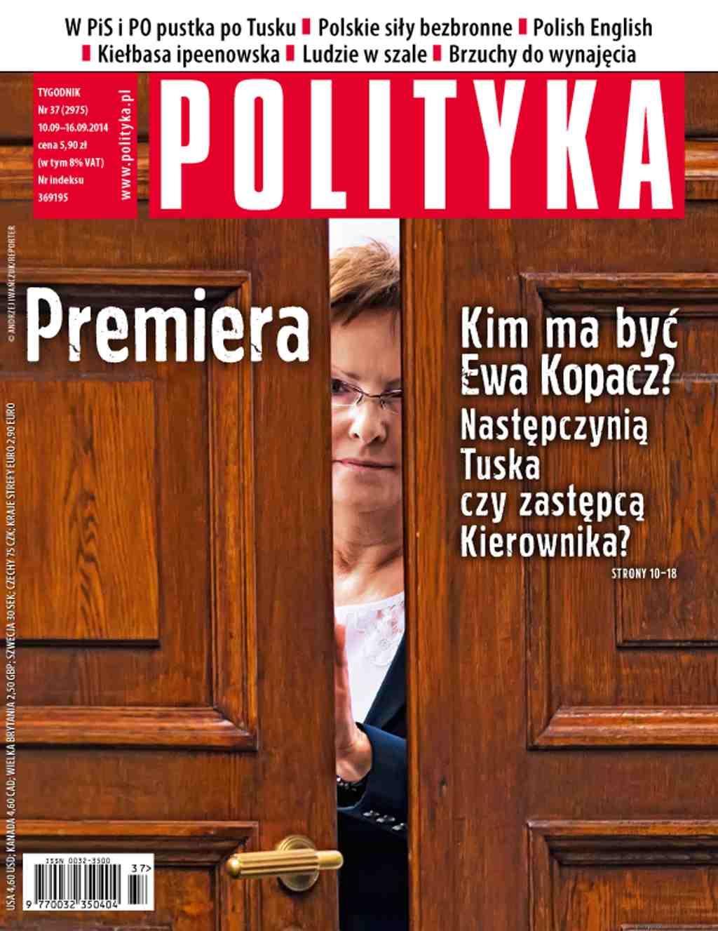 Polityka nr 37/2014 - Ebook (Książka PDF) do pobrania w formacie PDF