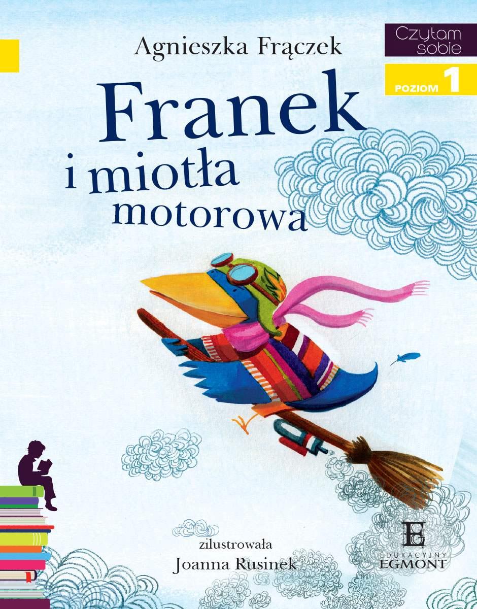 Franek i miotła motorowa. Czytam sobie - poziom 1 - Ebook (Książka PDF) do pobrania w formacie PDF