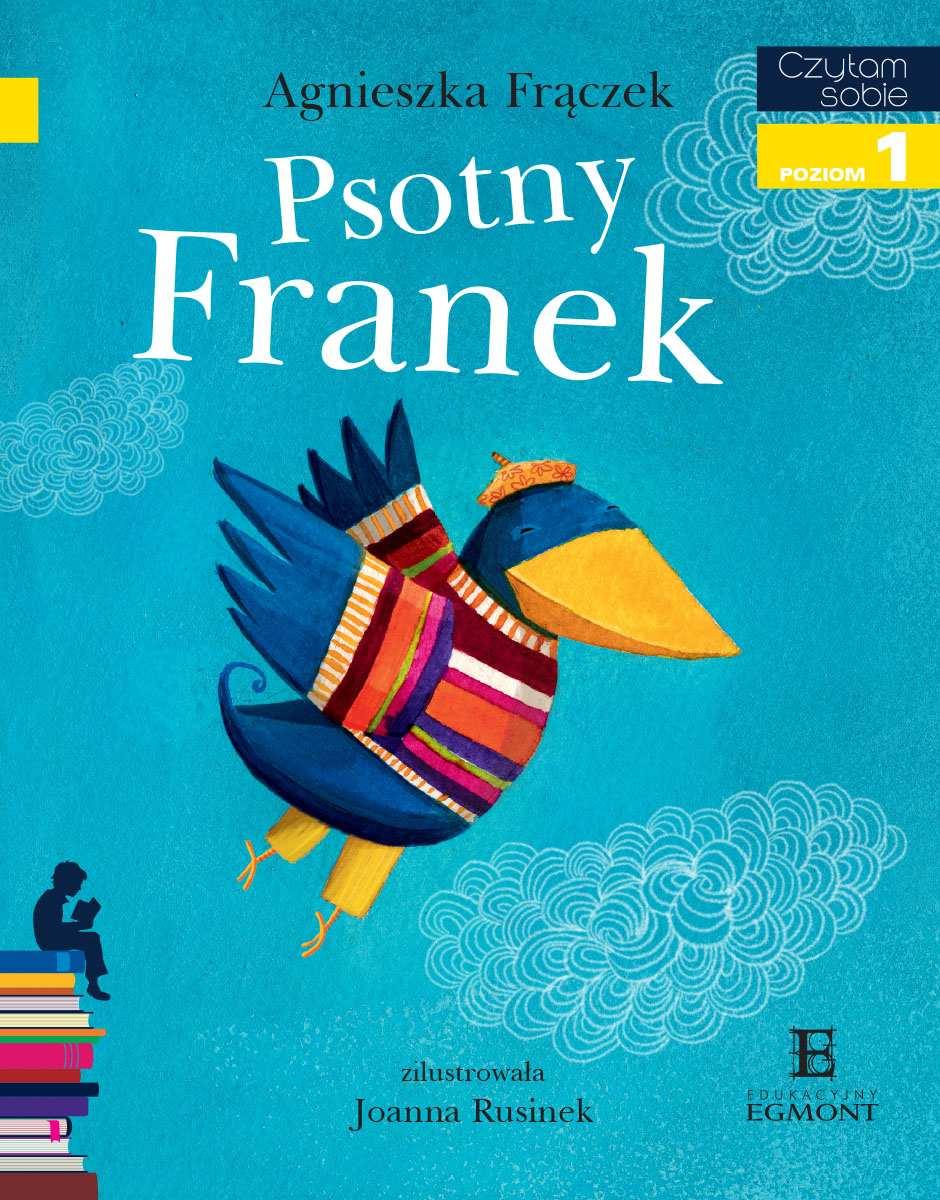 Psotny Franek. Czytam sobie - poziom 1 - Ebook (Książka PDF) do pobrania w formacie PDF