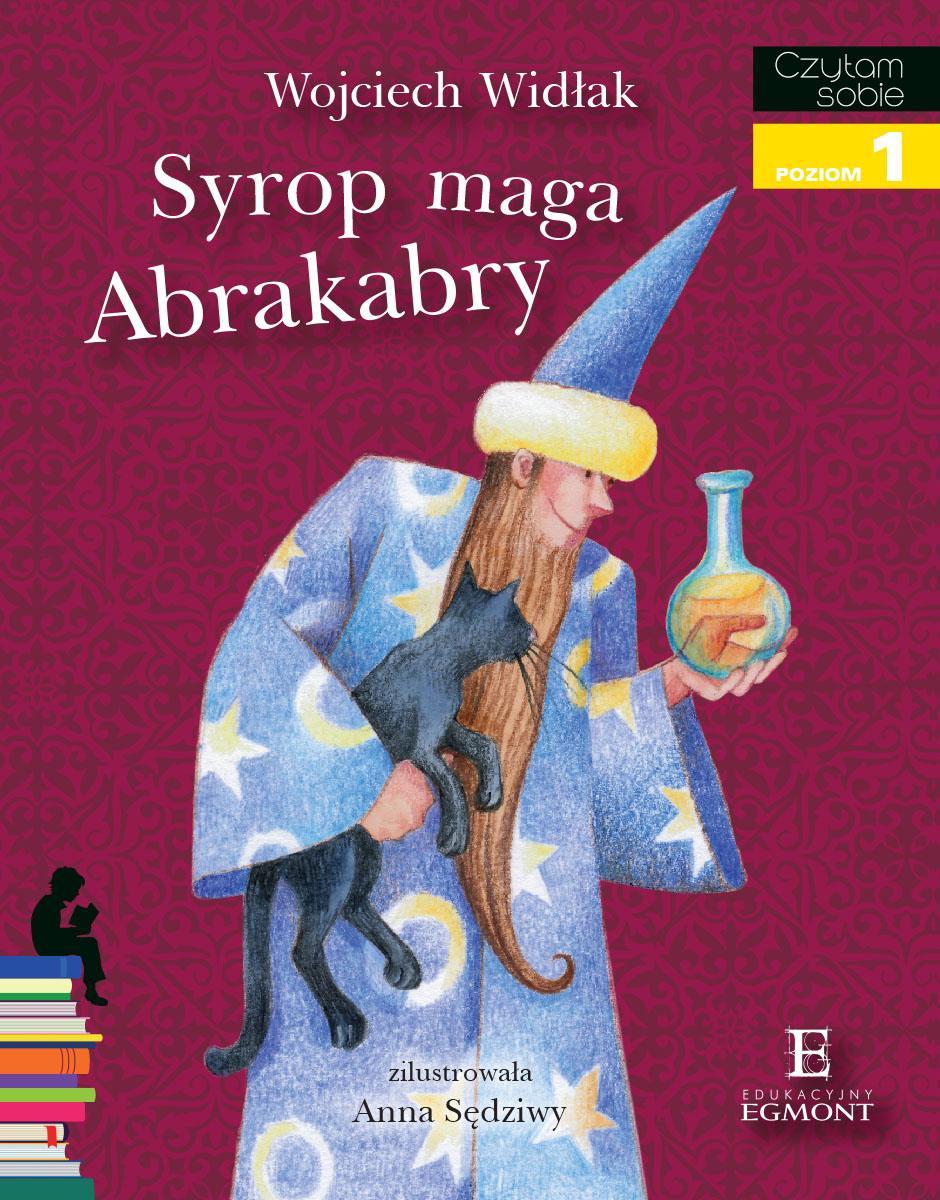 Syrop maga Abrakabry. Czytam sobie - poziom 1 - Ebook (Książka PDF) do pobrania w formacie PDF