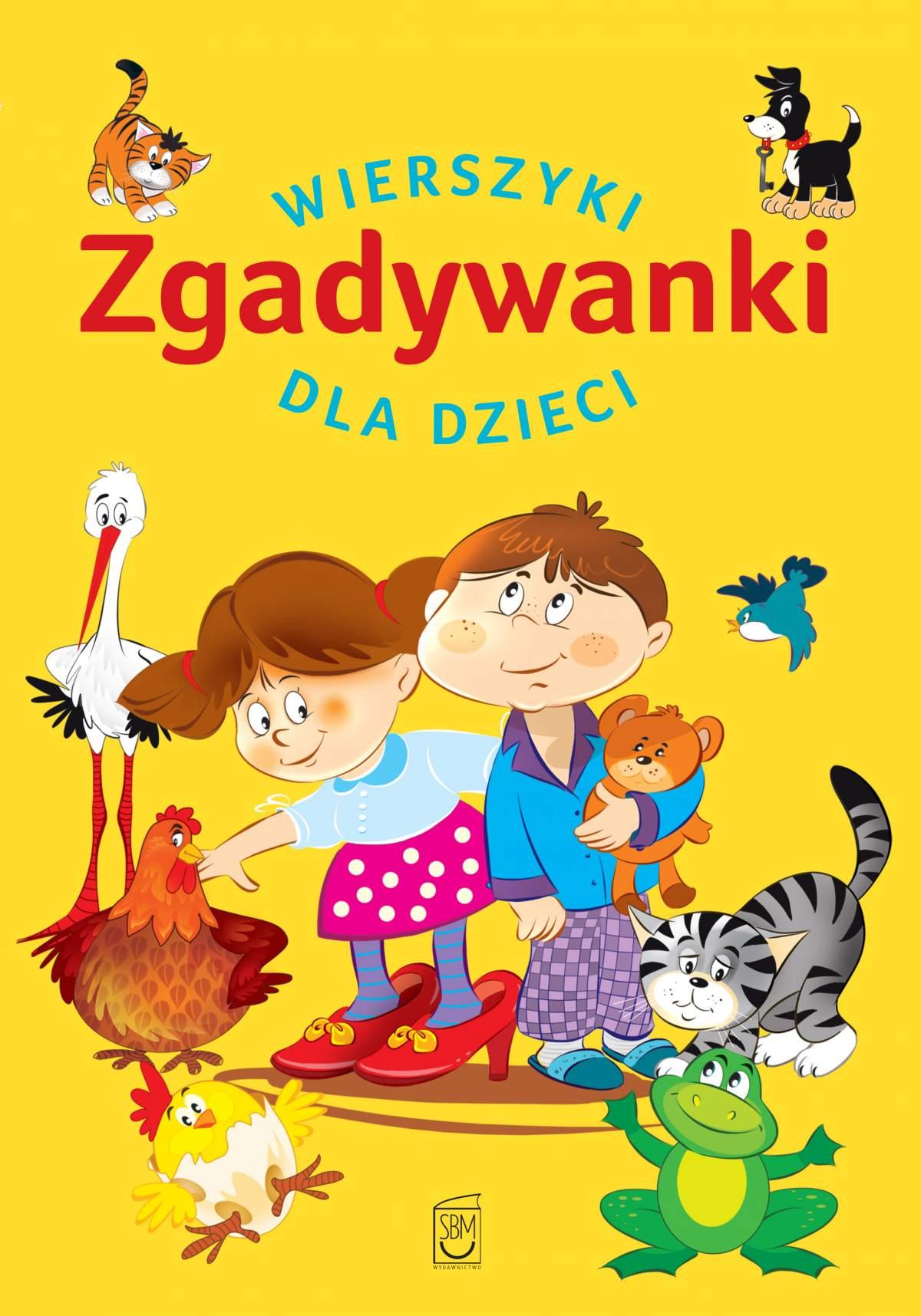 Zgadywanki. Wierszyki dla dzieci - Ebook (Książka PDF) do pobrania w formacie PDF