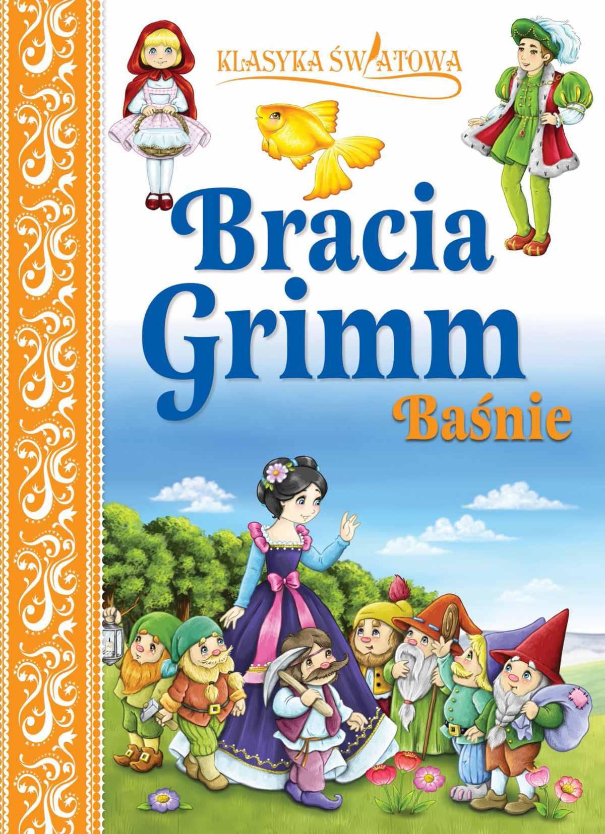 Klasyka światowa. Bracia Grimm Baśnie - Ebook (Książka PDF) do pobrania w formacie PDF