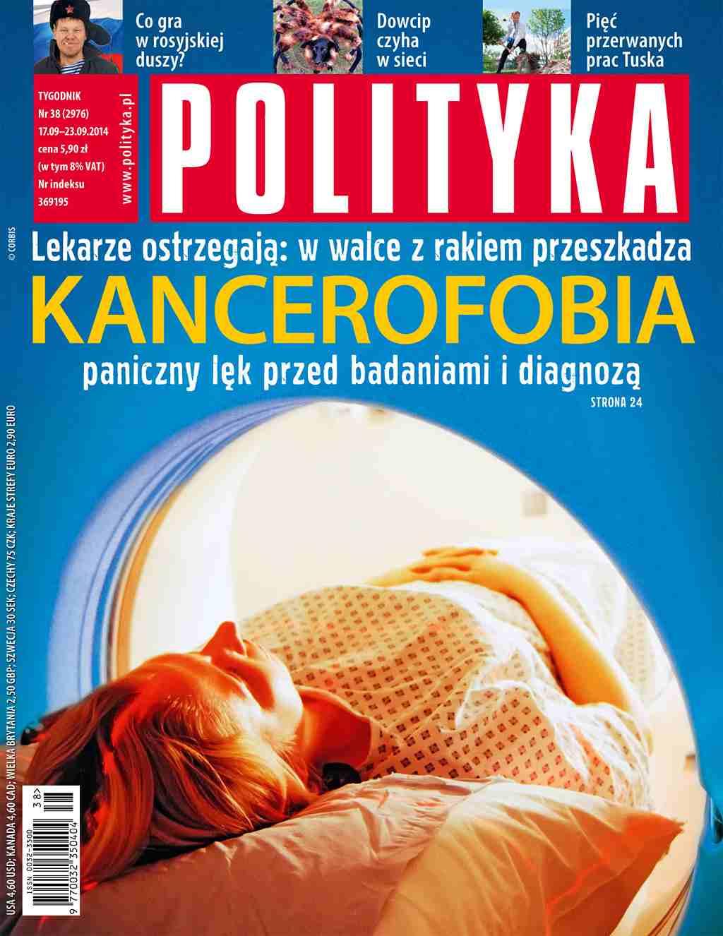 Polityka nr 38/2014 - Ebook (Książka PDF) do pobrania w formacie PDF