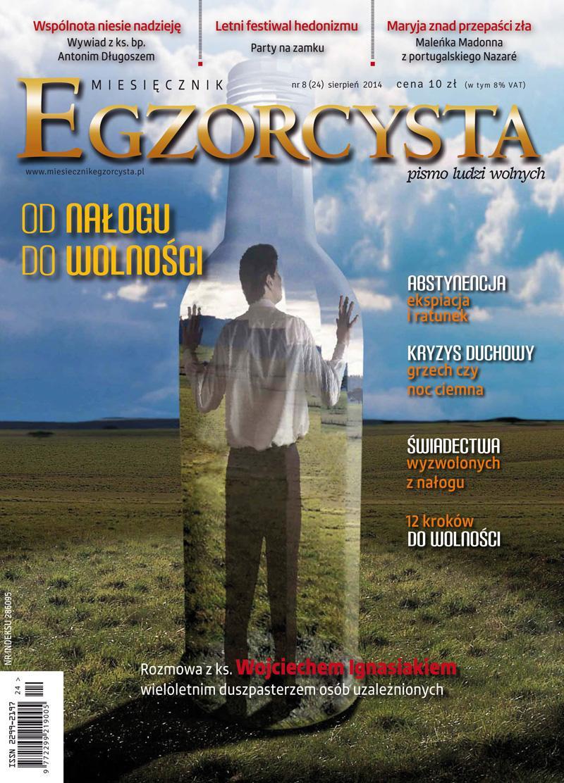 Miesięcznik Egzorcysta. Sierpień 2014 - Ebook (Książka PDF) do pobrania w formacie PDF