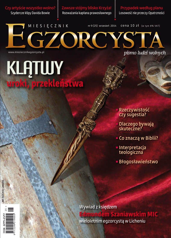 Miesięcznik Egzorcysta. Wrzesień 2014 - Ebook (Książka PDF) do pobrania w formacie PDF