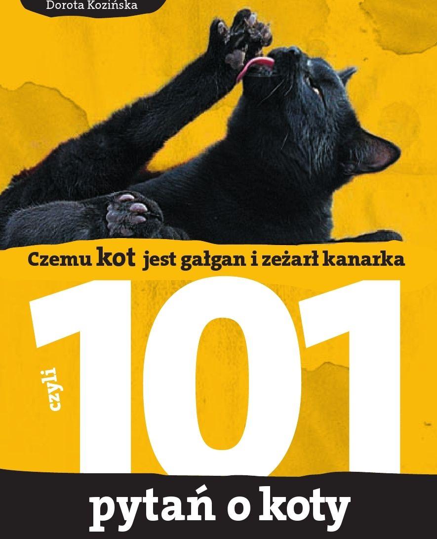 101 pytań o koty, czyli czemu kot jest gałgan i zeżarł kanarka - Ebook (Książka PDF) do pobrania w formacie PDF