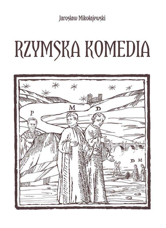 Rzymska komedia - Ebook (Książka EPUB) do pobrania w formacie EPUB