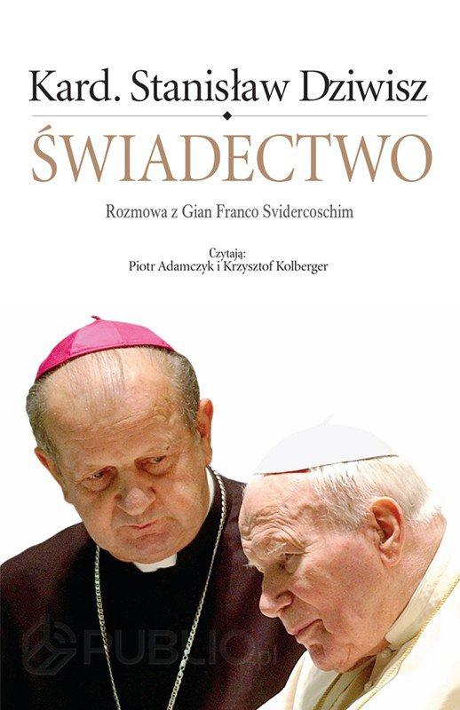 Świadectwo. Rozmowa z Gian Franco Svidercoschim - Audiobook (Książka audio MP3) do pobrania w całości w archiwum ZIP