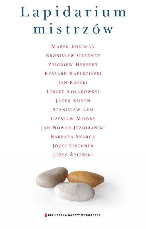 Lapidarium mistrzów - Ebook (Książka na Kindle) do pobrania w formacie MOBI