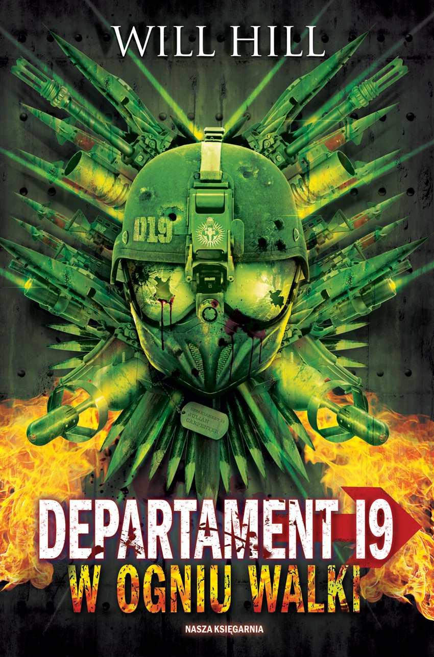 Departament 19. W ogniu walki - Ebook (Książka na Kindle) do pobrania w formacie MOBI