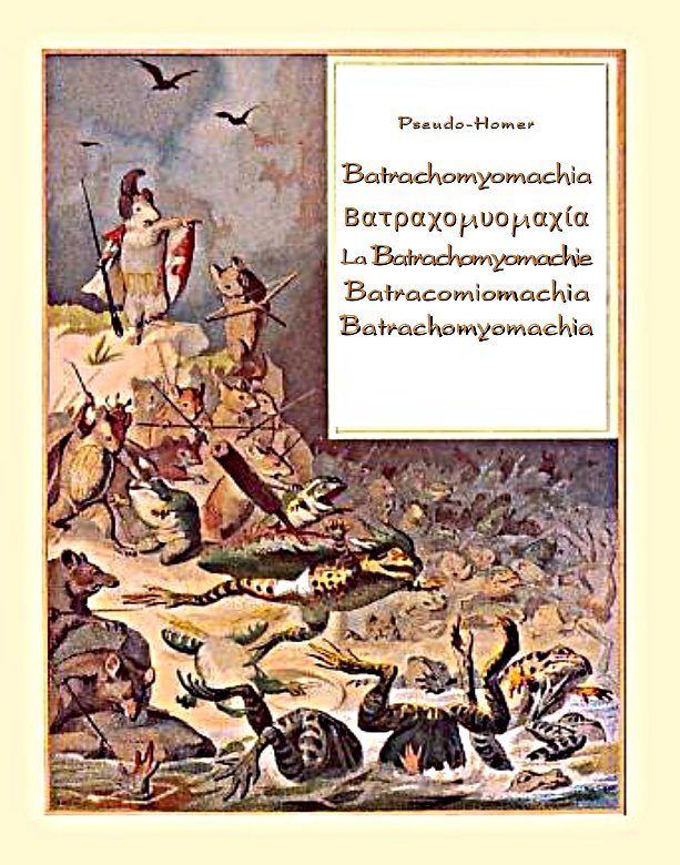 Batrachomyomachia. La Batrachomyomachie. Batracomiomachia. Batrachomyomachia - Ebook (Książka EPUB) do pobrania w formacie EPUB