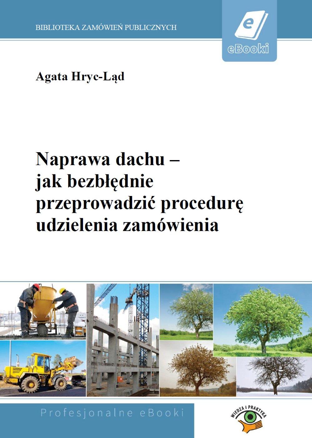 Naprawa dachu – jak bezbłędnie przeprowadzić procedurę udzielenia zamówienia - Ebook (Książka PDF) do pobrania w formacie PDF