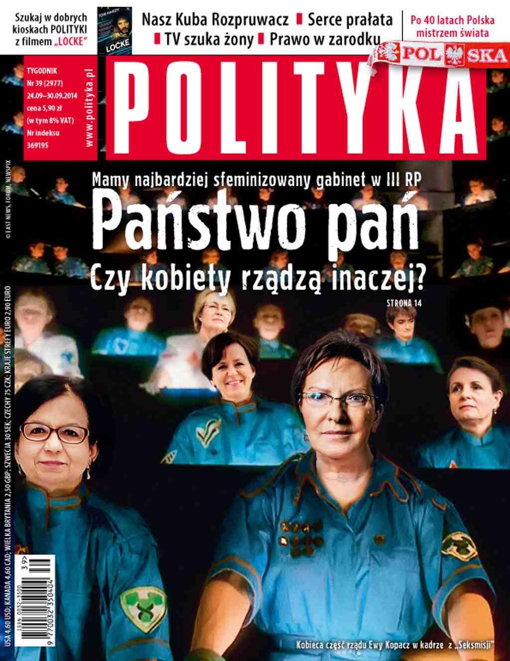 Polityka nr 39/2014 - Ebook (Książka PDF) do pobrania w formacie PDF