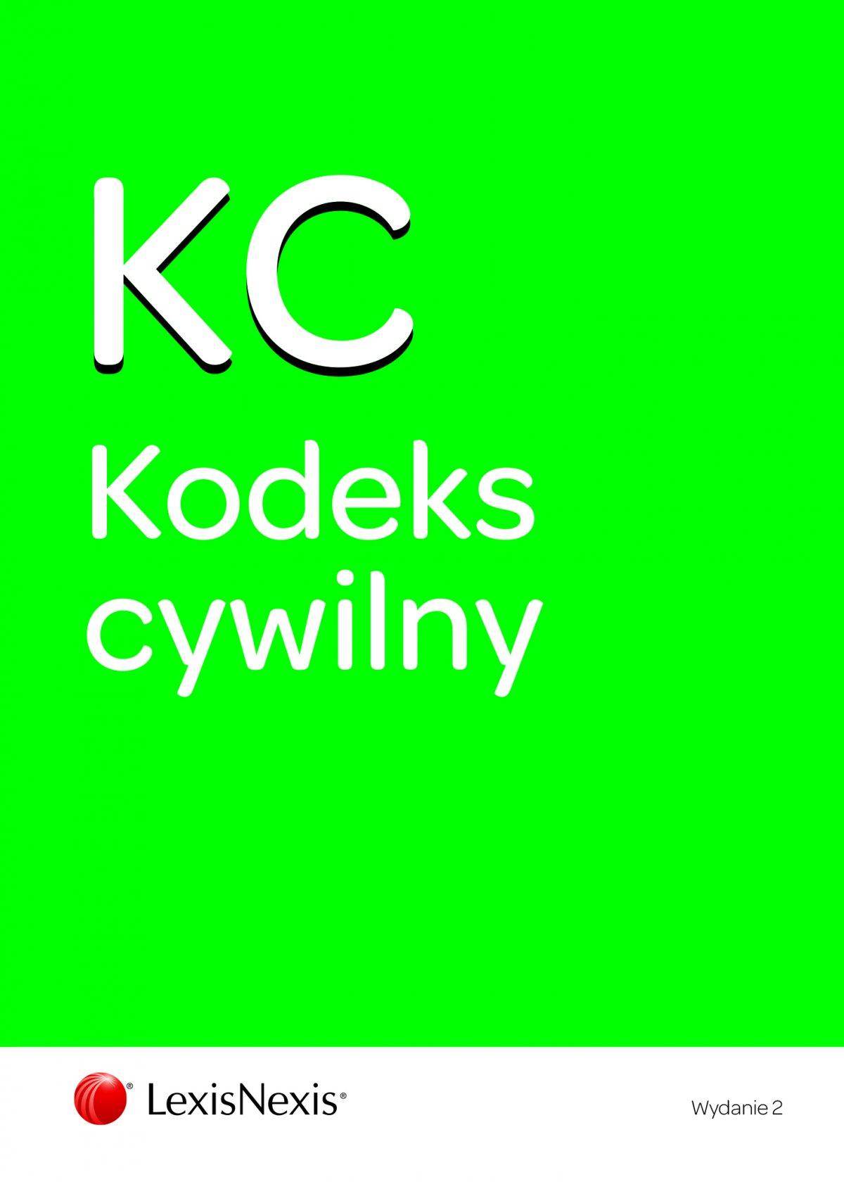 Kodeks cywilny. Wydanie 2 - Ebook (Książka EPUB) do pobrania w formacie EPUB