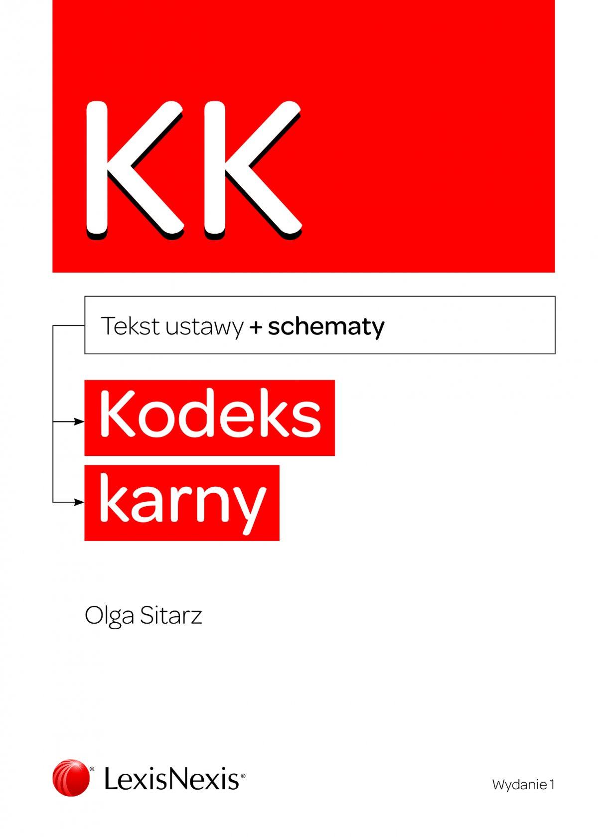 Kodeks karny ze schematami. Wydanie 1 - Ebook (Książka PDF) do pobrania w formacie PDF