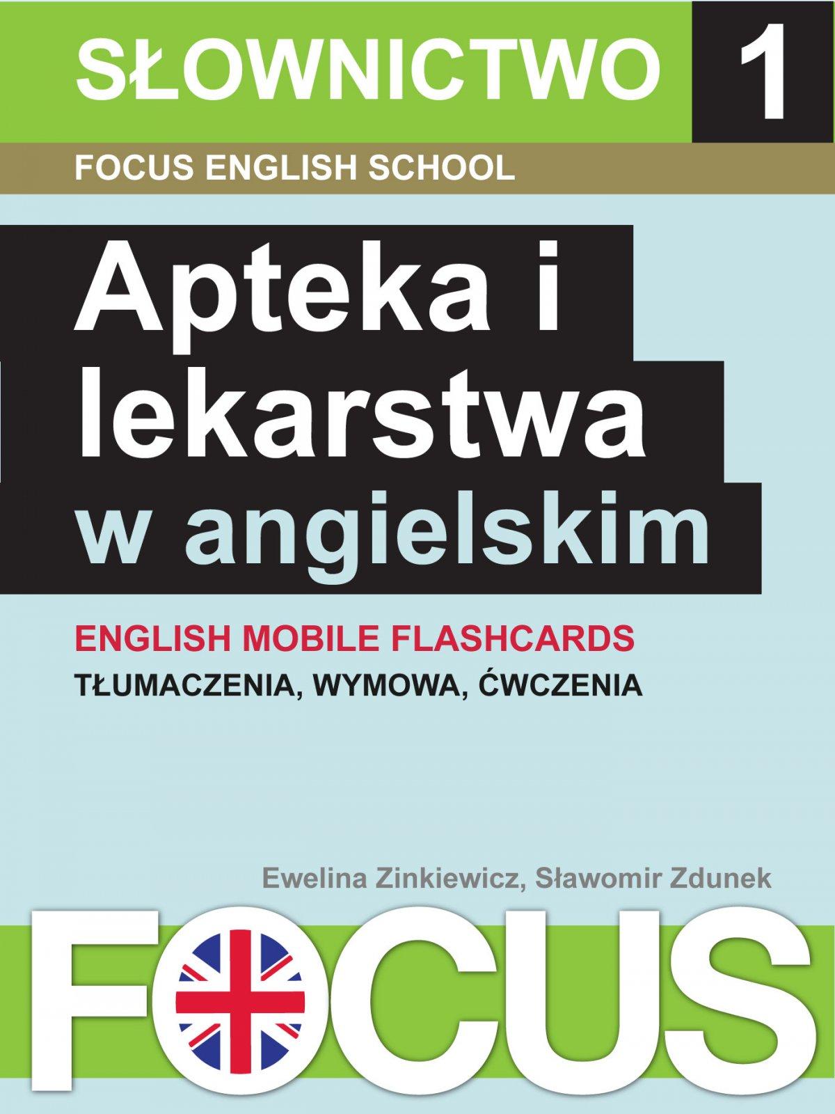 Apteka i lekarstwa w angielskim. Zestaw 1 - Ebook (Książka EPUB) do pobrania w formacie EPUB