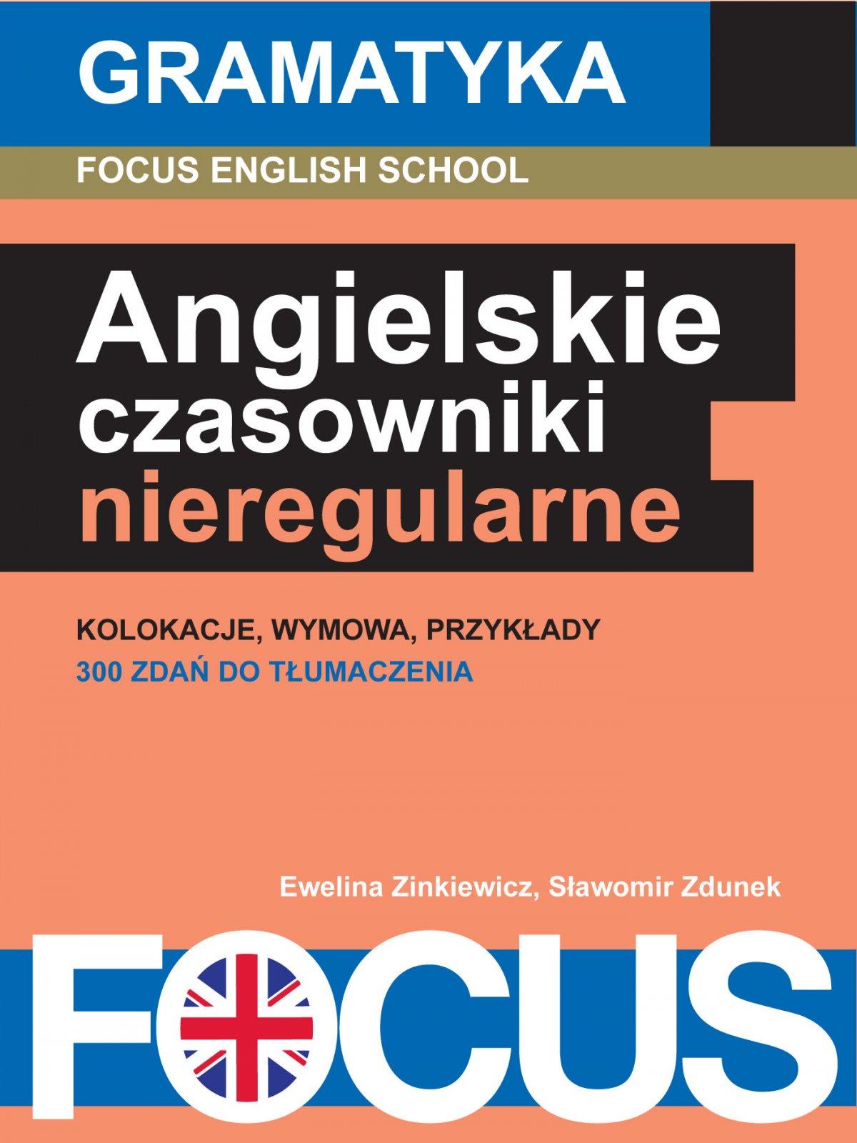 Angielskie czasowniki nieregularne - Ebook (Książka EPUB) do pobrania w formacie EPUB