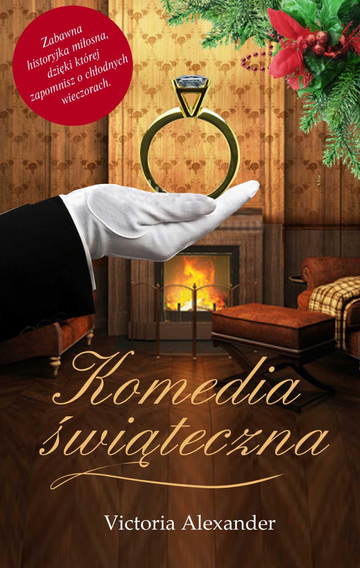 Komedia świąteczna - Ebook (Książka na Kindle) do pobrania w formacie MOBI