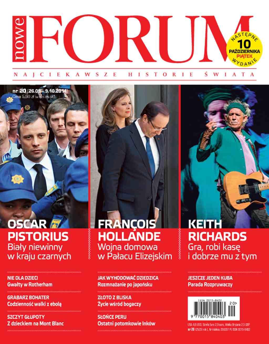 Forum nr 20/2014 - Ebook (Książka PDF) do pobrania w formacie PDF