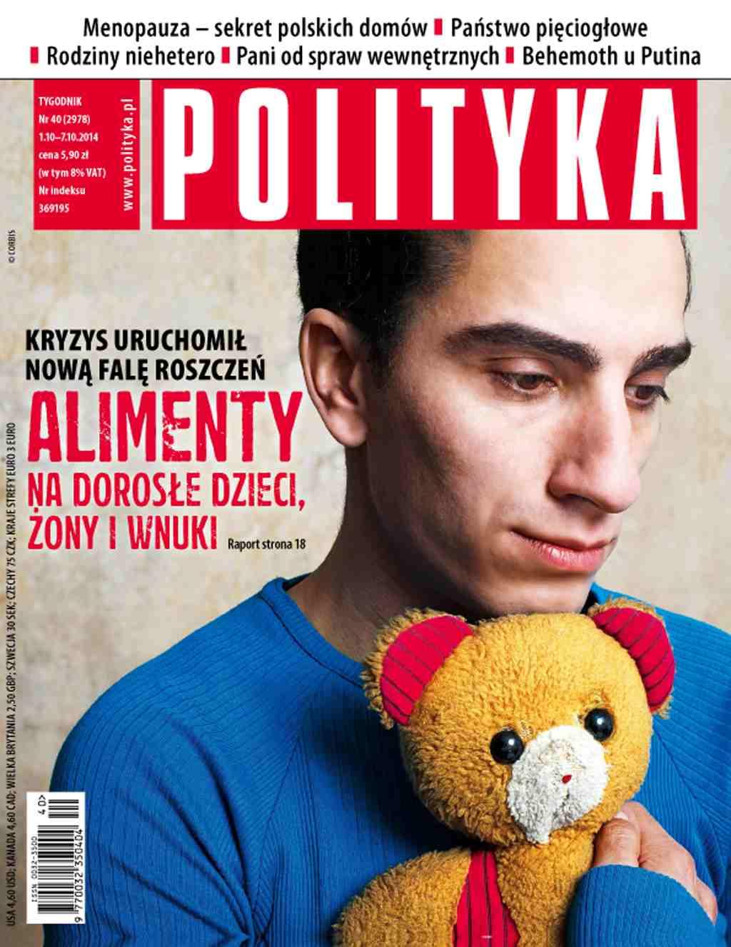 Polityka nr 40/2014 - Ebook (Książka PDF) do pobrania w formacie PDF
