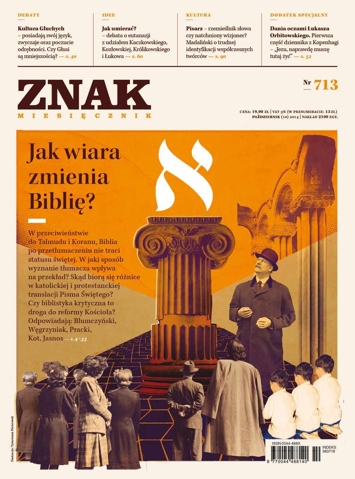 Miesięcznik Znak. Październik 2014 - Ebook (Książka PDF) do pobrania w formacie PDF