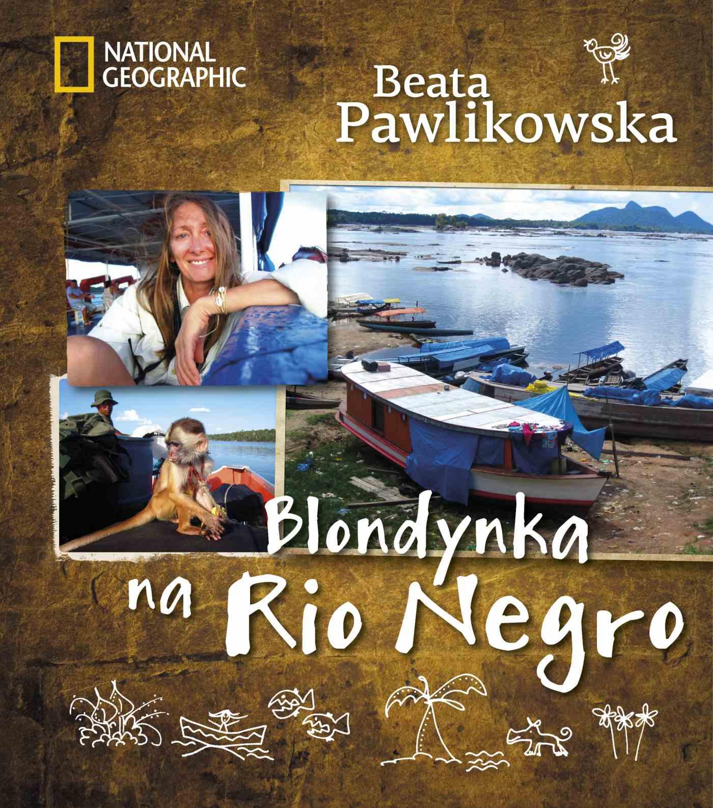 Blondynka na Rio Negro - Ebook (Książka EPUB) do pobrania w formacie EPUB