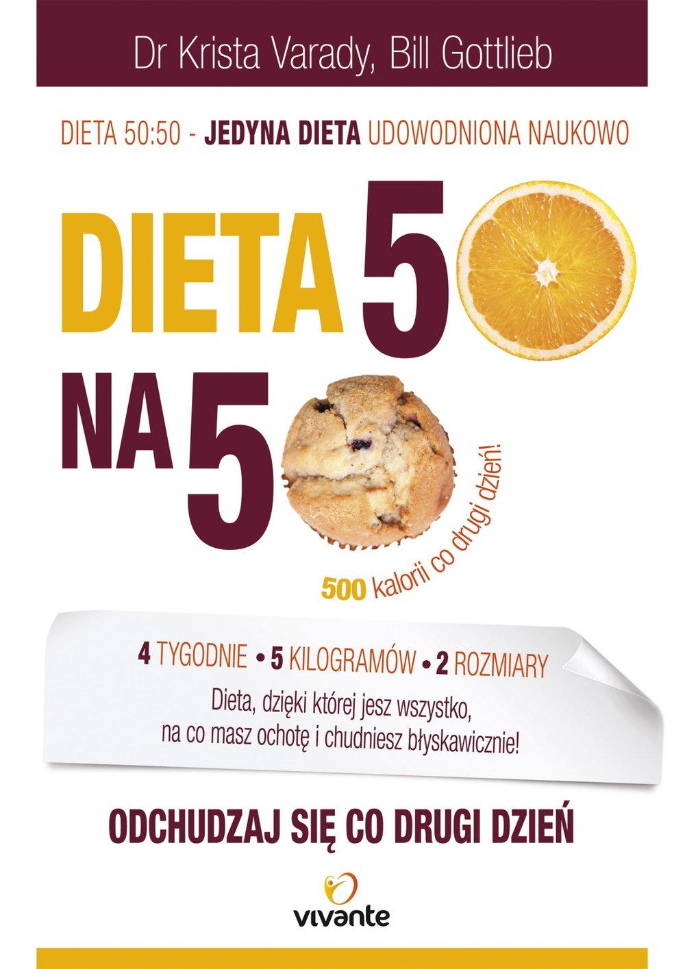 Dieta 50:50. Odchudzaj się co drugi dzień! - Ebook (Książka na Kindle) do pobrania w formacie MOBI