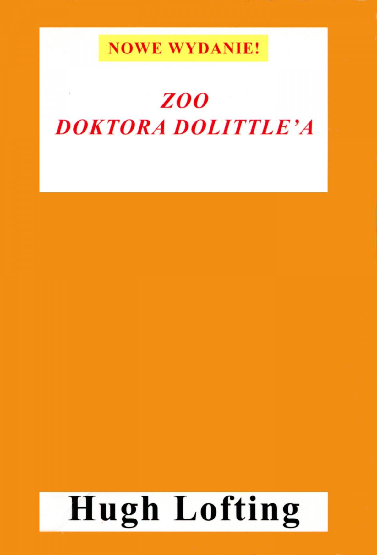 Zoo doktora Dolittle'a - Ebook (Książka EPUB) do pobrania w formacie EPUB