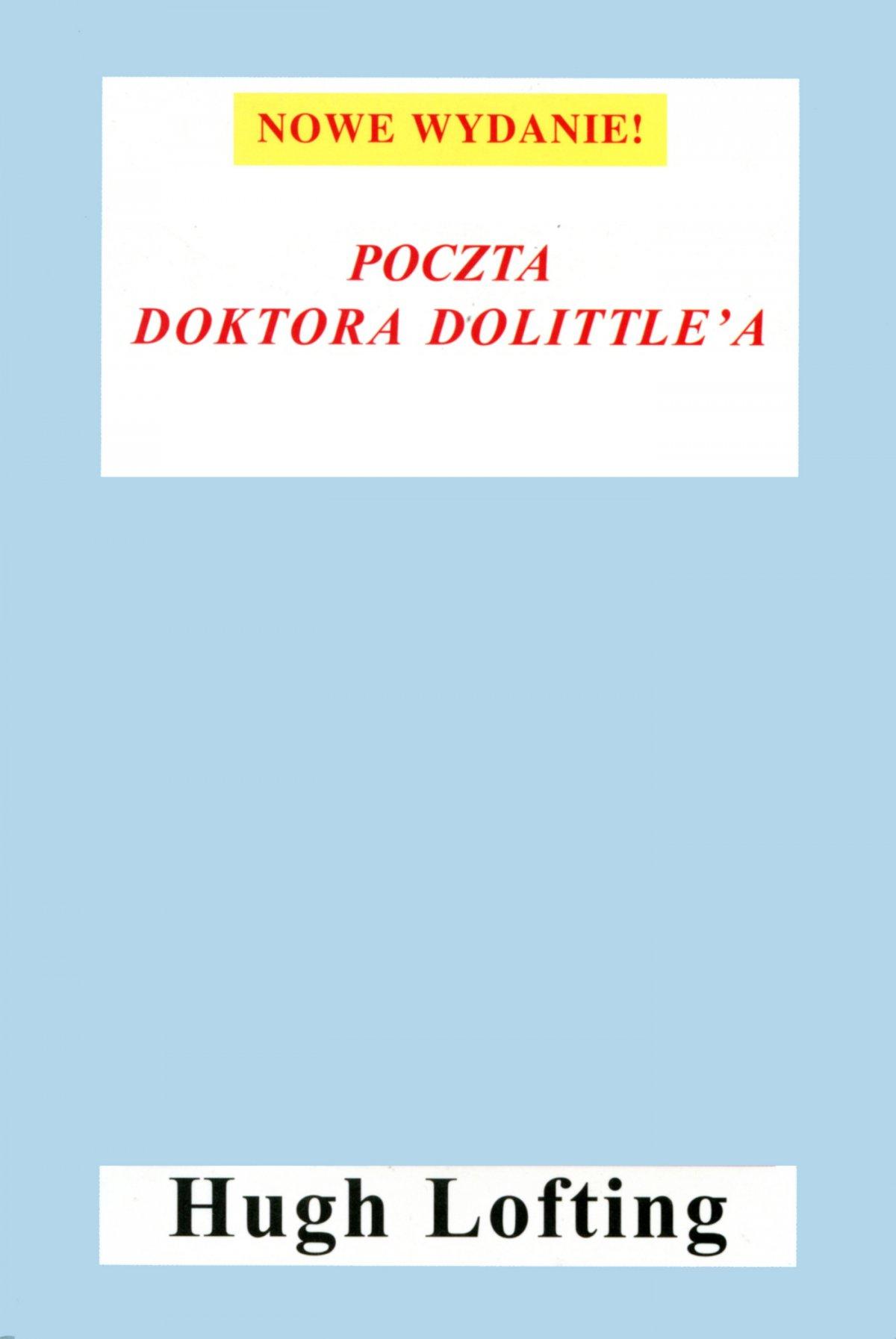 Poczta Doktora Dolittle'a - Ebook (Książka EPUB) do pobrania w formacie EPUB