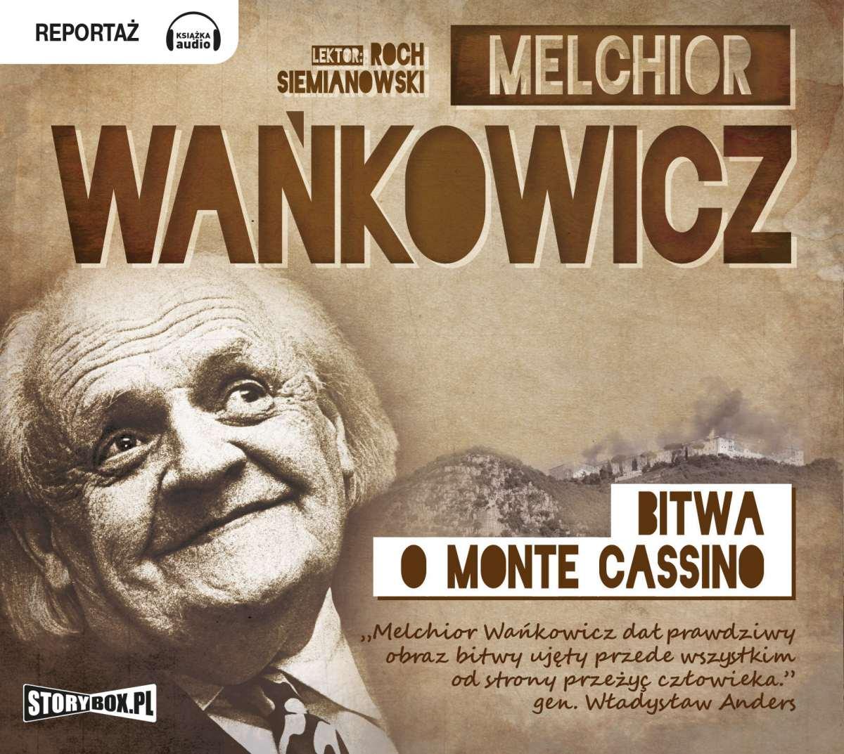 Bitwa o Monte Cassino - Audiobook (Książka audio MP3) do pobrania w całości w archiwum ZIP