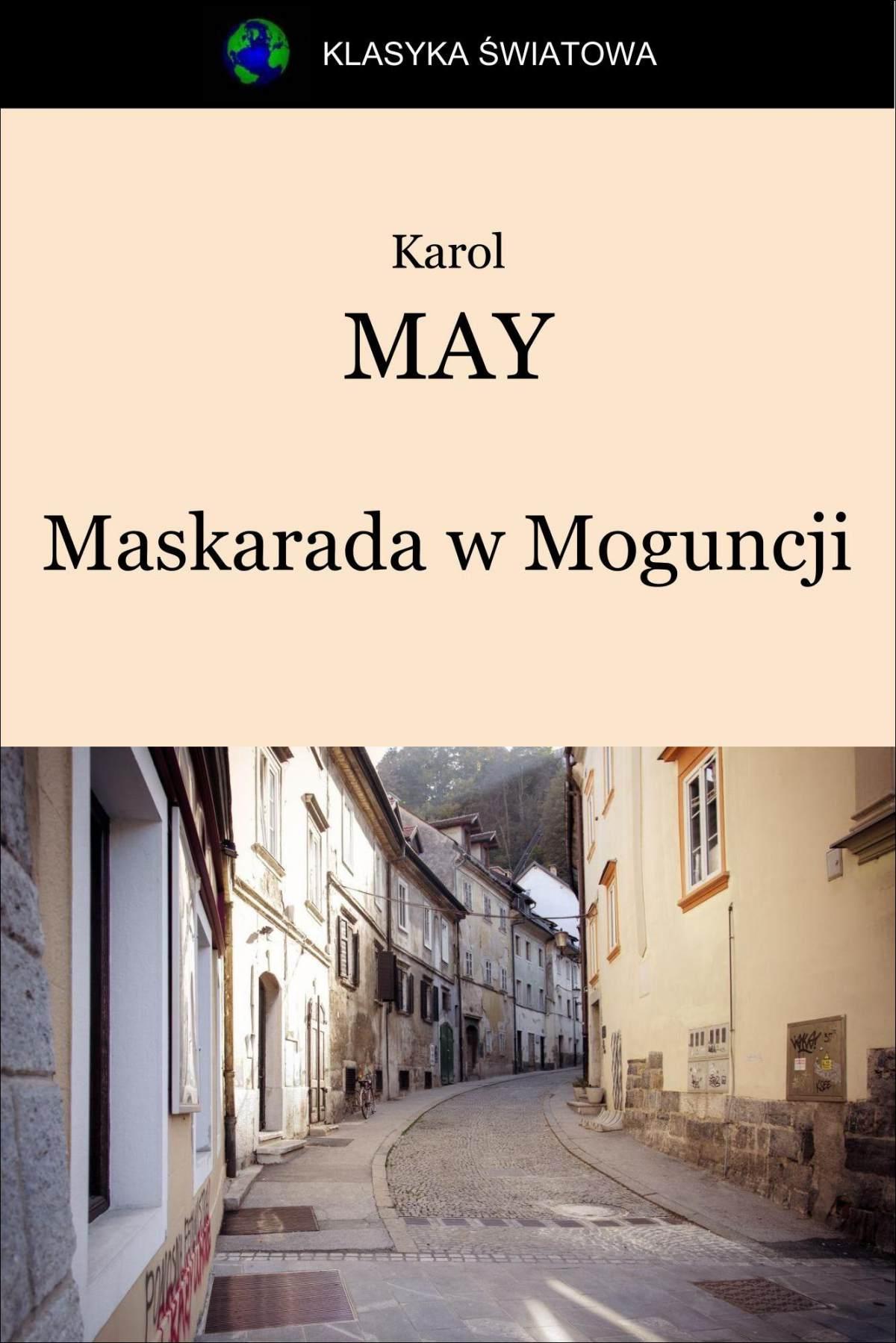 Maskarada w Moguncji - Ebook (Książka EPUB) do pobrania w formacie EPUB