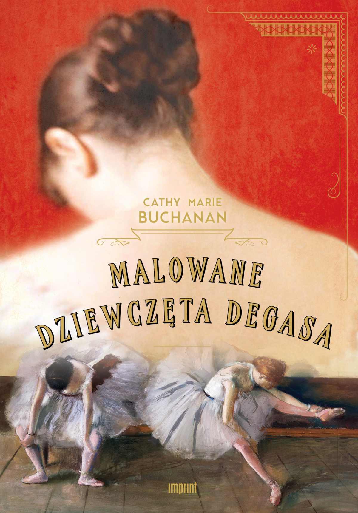 Malowane dziewczęta Degasa - Ebook (Książka na Kindle) do pobrania w formacie MOBI
