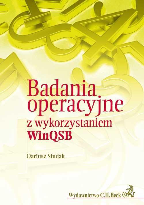 Badania operacyjne z wykorzytsaniem WinQSB - Ebook (Książka PDF) do pobrania w formacie PDF
