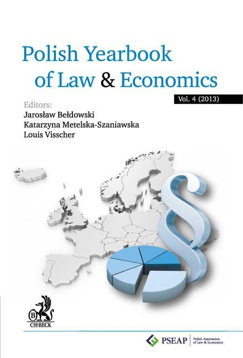 Polish Yearbook of Law and Economics. Vol. 4 (2014) - Ebook (Książka PDF) do pobrania w formacie PDF