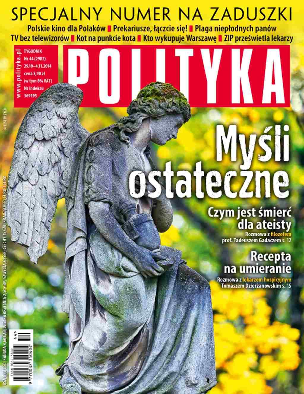 Polityka nr 44/2014 - Ebook (Książka PDF) do pobrania w formacie PDF