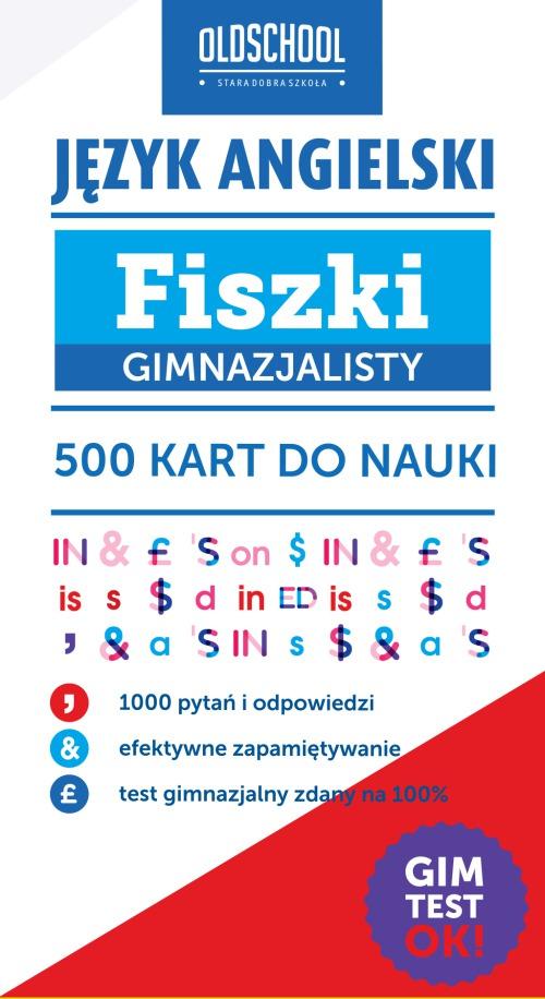 Język angielski. Fiszki gimnazjalisty. 500 kart do nauki - Ebook (Książka na Kindle) do pobrania w formacie MOBI