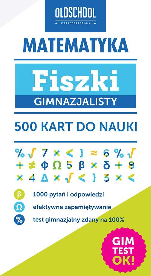 Matematyka. Fiszki gimnazjalisty. 500 kart do nauki - Ebook (Książka na Kindle) do pobrania w formacie MOBI